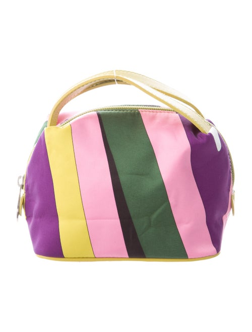Emilio Pucci Mini Print Handle Bag Pink