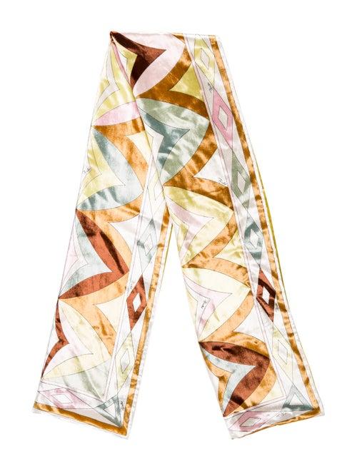 Emilio Pucci Abstract Woven Scarf multicolor