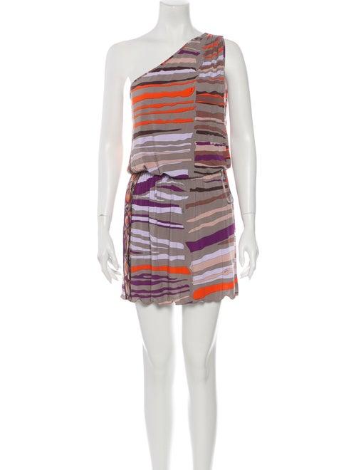 Emilio Pucci Striped Mini Dress