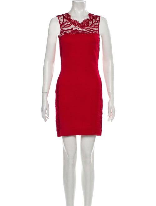 Emilio Pucci Wool Mini Dress Wool