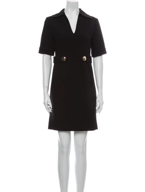 Emilio Pucci Virgin Wool Mini Dress Wool