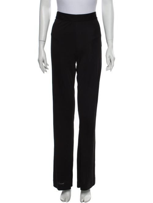 Emilio Pucci Straight Leg Pants Black