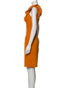 Emilio Pucci Wool Knee-Length Dress