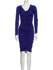 Emilio Pucci Wool Midi Length Dress