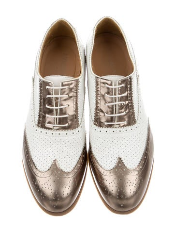 Wingtip Oxford Flats
