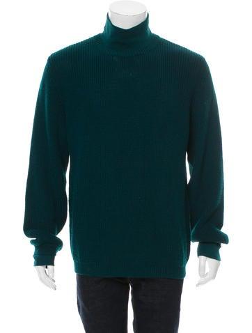 Emporio Armani Rib Knit Turtleneck Sweater None