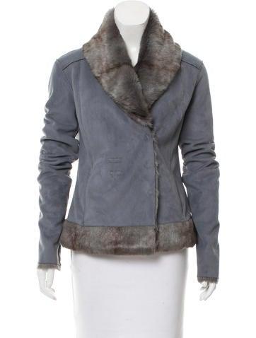 Emporio Armani Lightweight Faux Fur Jacket None