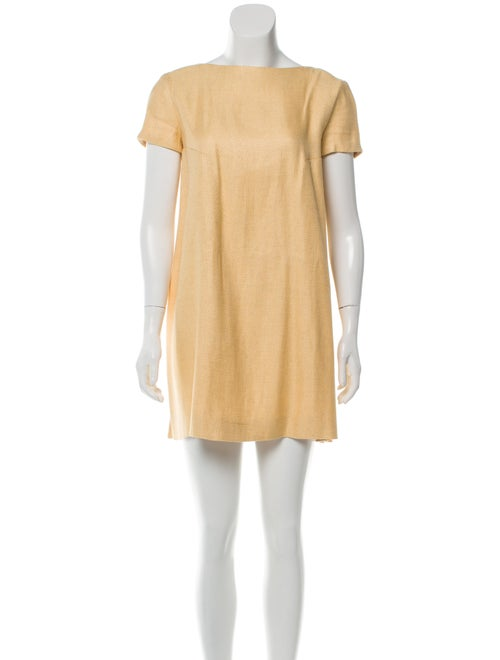 Emilia Wickstead Woven Tent Dress Beige