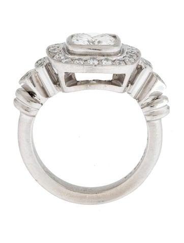 Platinum 1.49CT Cushion Diamond