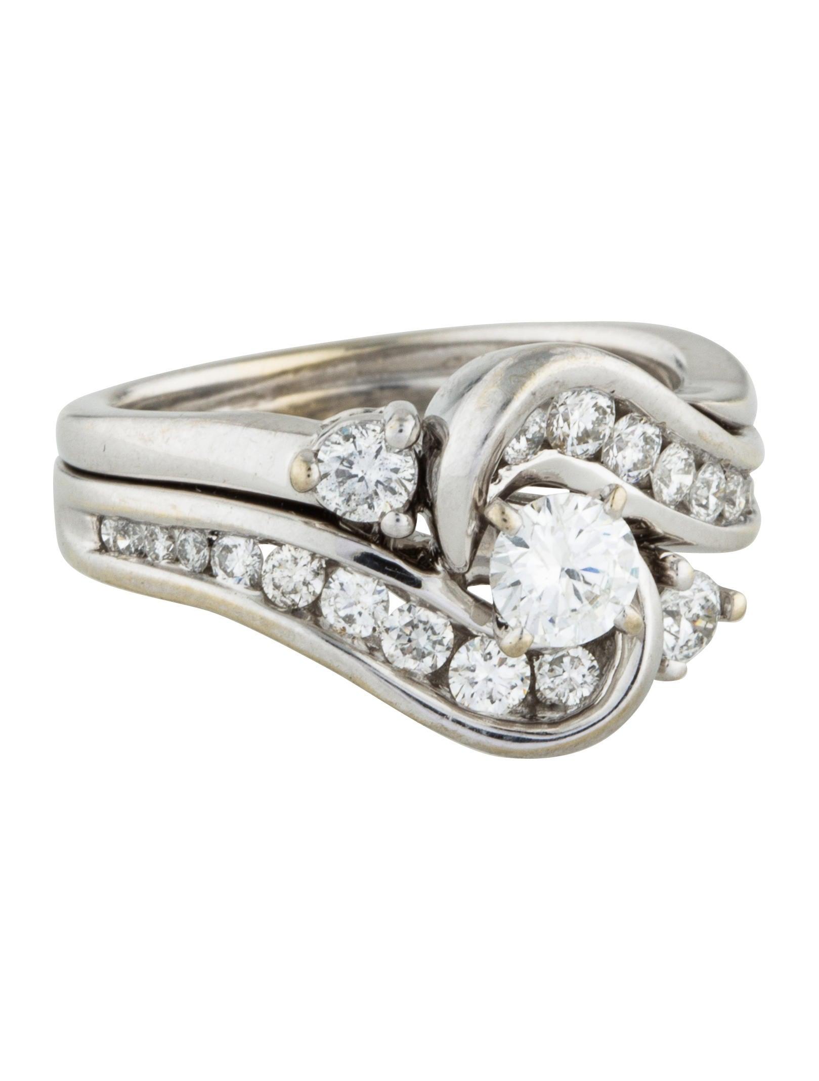 14k diamond cluster engagement ring rings engri20732