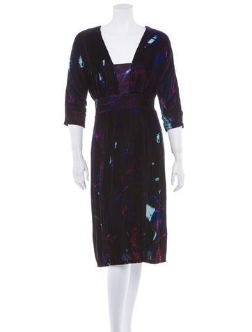 Velvet Dress w/ Tags