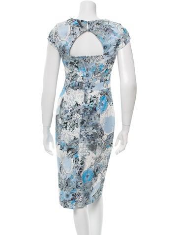 Printed Midi Dress w/ Tags