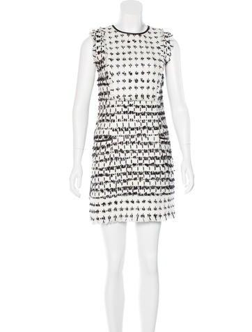 Erdem Tweed Mini Dress w/ Tags