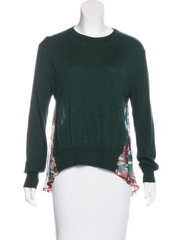 Erdem Long Sleeve Knit Top None