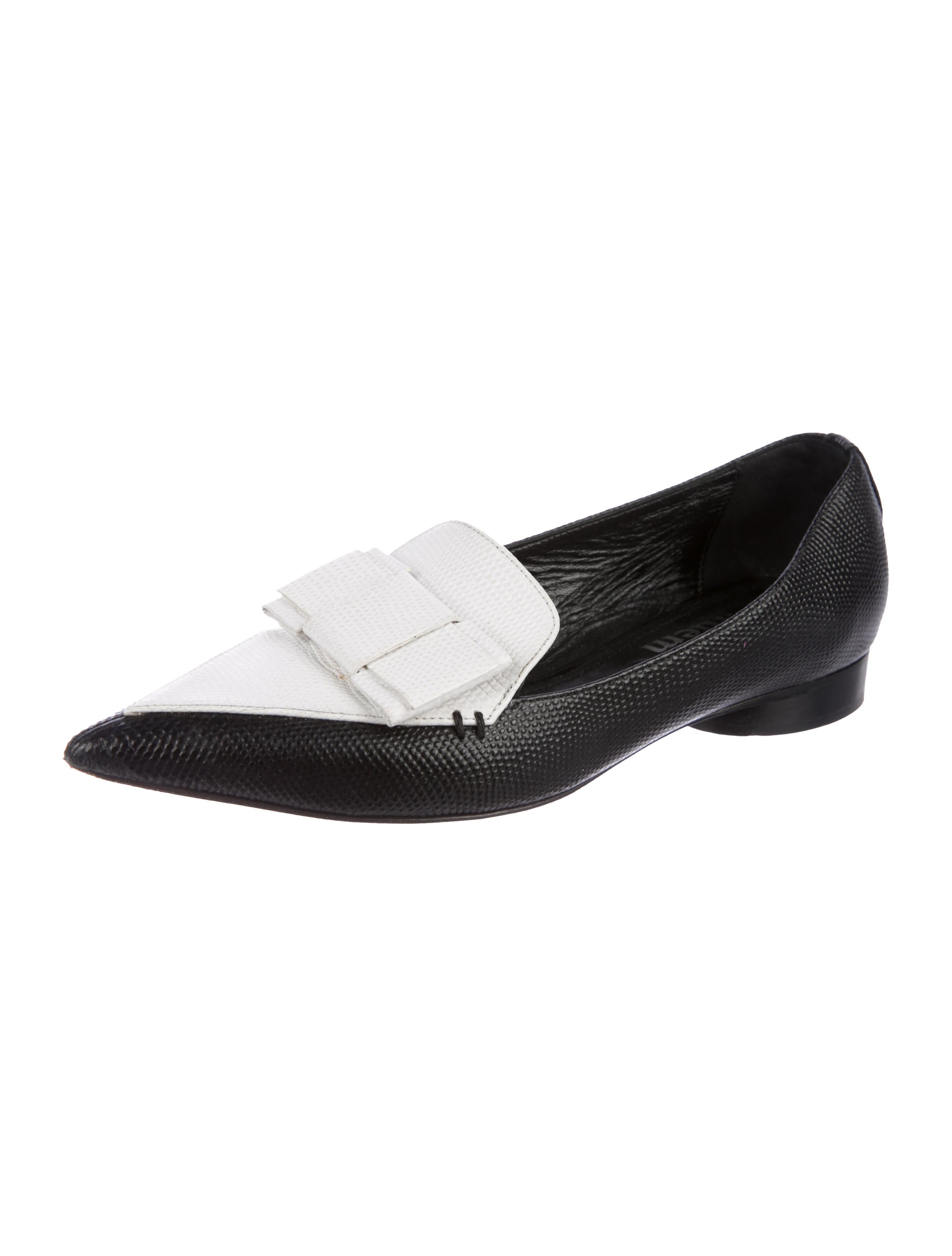 Erdem Nicholas Kirkwood x Embossed Pointed-Toe Loafers outlet footaction looking for sale online cheap pay with visa s717MfjWk7