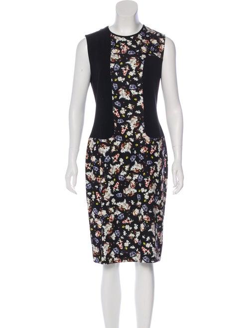 Erdem Nell Floral Dress Black