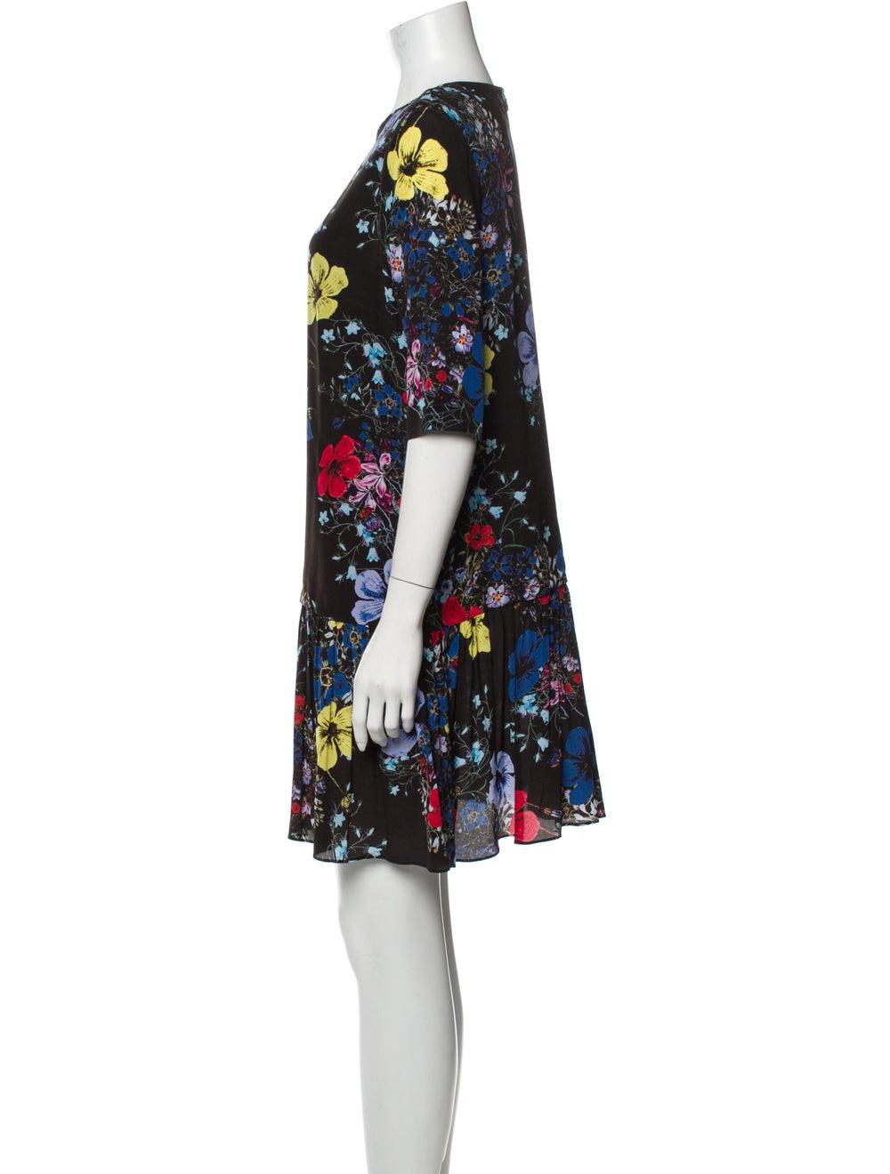 Erdem Silk Mini Dress Black - image 2