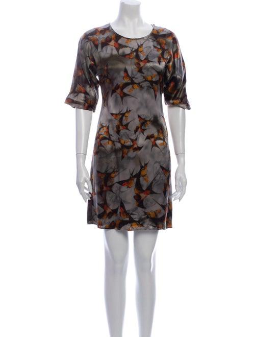 Erdem Silk Mini Dress