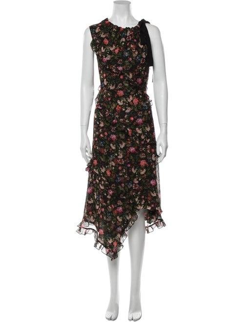 Erdem Silk Long Dress