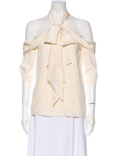 Erdem Elin Silk Blouse White