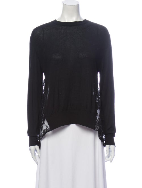 Erdem Crew Neck Sweater Black