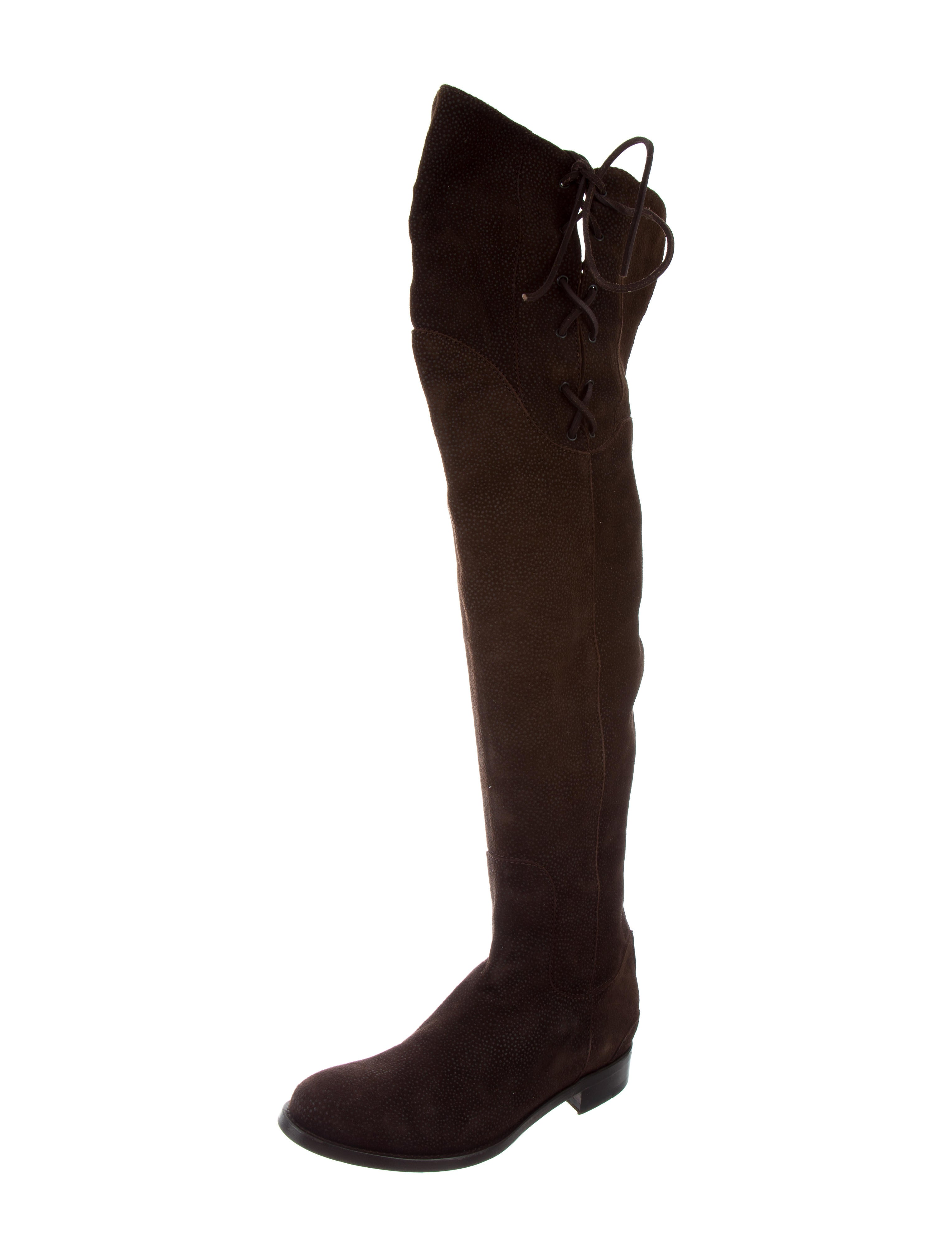 amazing price cheap price cheap discount Ermanno Scervino Lace-Up Over-The-Knee Boots cheap really very cheap cheap online vfOWGG