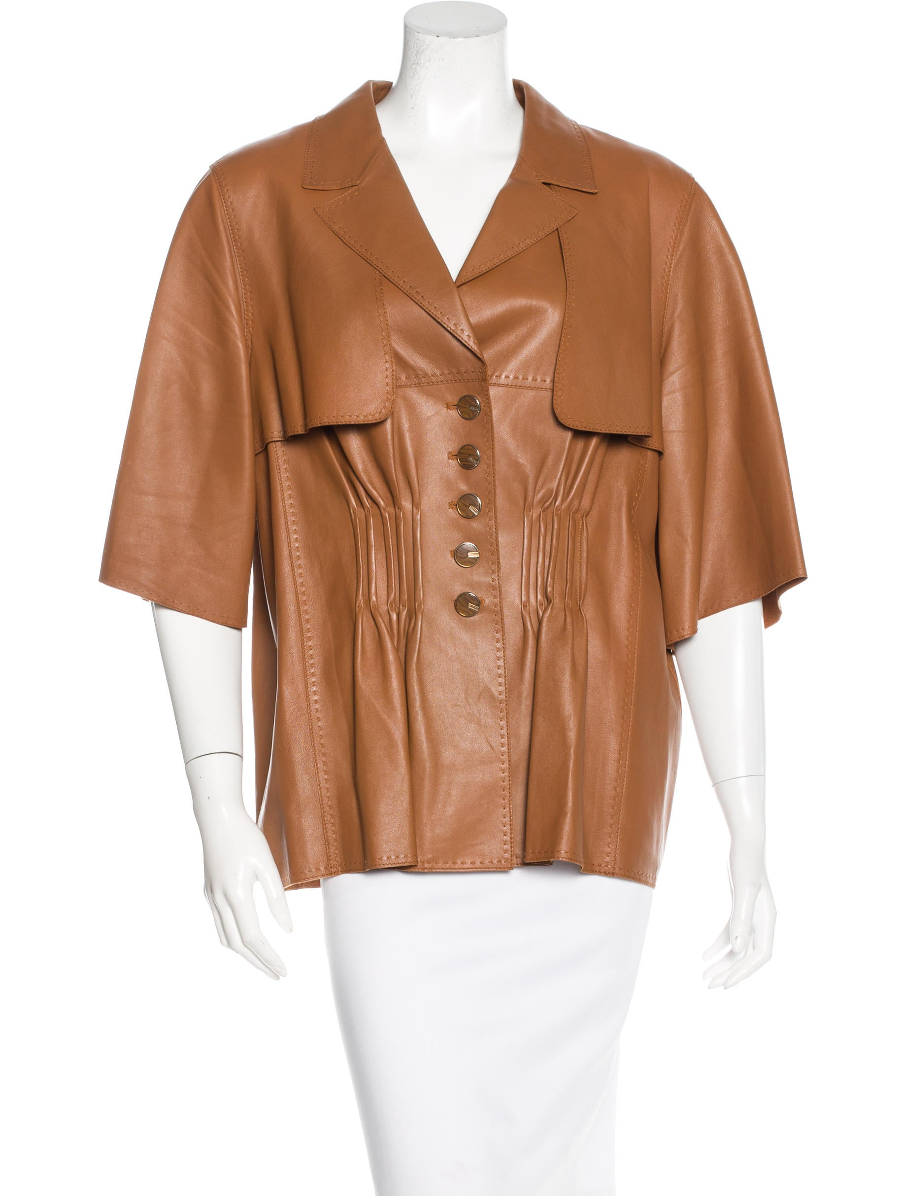 Find short sleeve leather jacket at ShopStyle. Shop the latest collection of short sleeve leather jacket from the most popular stores - all in one.