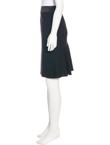 Wool Knee-Length Skirt w/ Tags