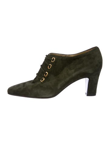 Escada Suede Ankle Boots w/ Tags for nice for sale Ujdnd25UM