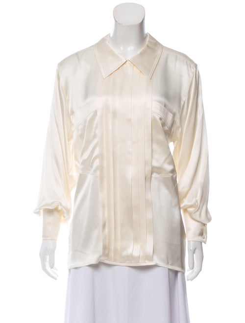 Escada Silk Long Sleeve Blouse
