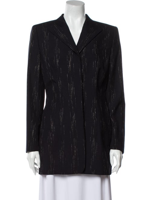Escada Virgin Wool Coat Wool