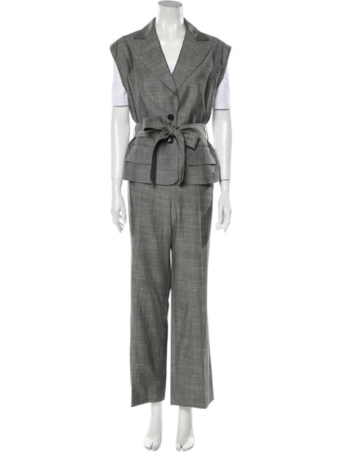 Escada Pant Set Grey