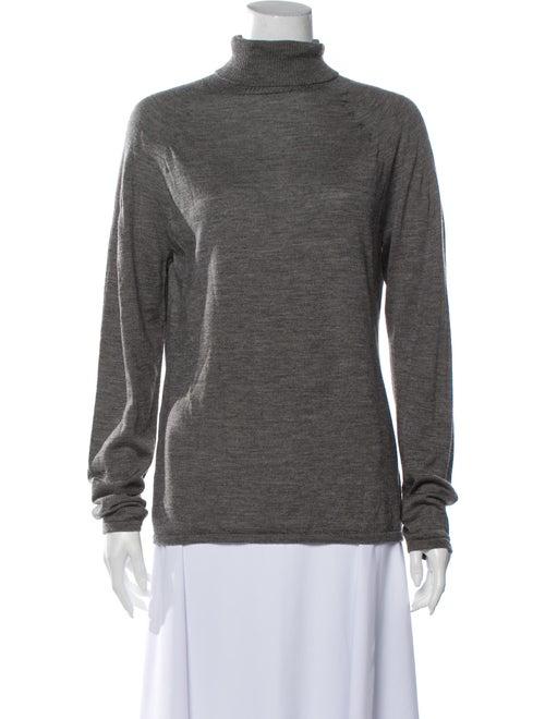 Escada Turtleneck Sweater Grey