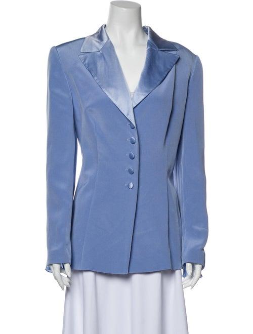 Escada Silk Blazer Blue