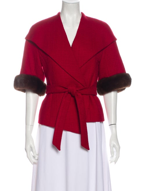 Escada Evening Jacket Red