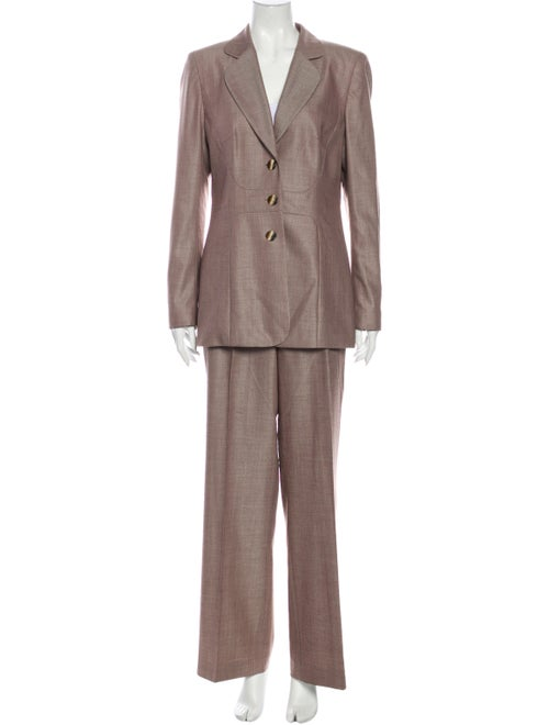 Escada Wool Pant Set Wool
