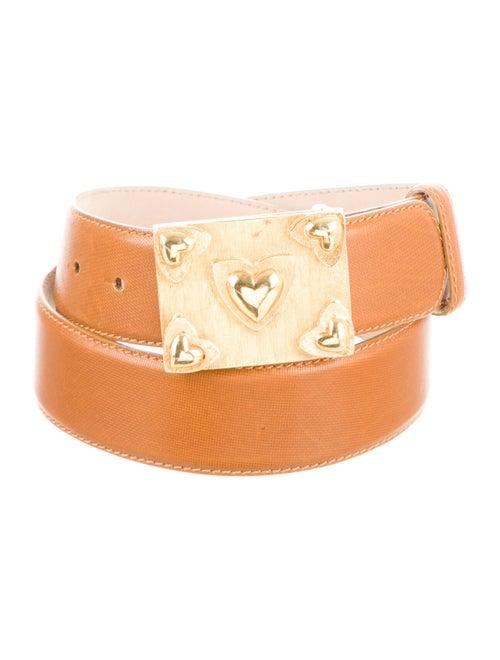 Escada Leather Hip Belt gold