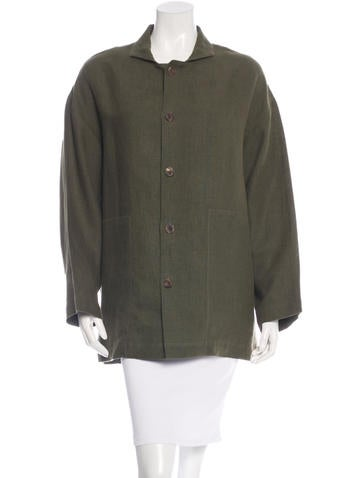 Eskandar Linen Button-Up Shirt