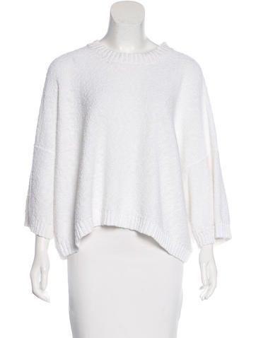 Eskandar Scoop Neck Long Sleeve Sweater None