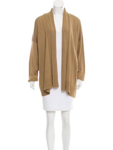 Eskandar Oversize Silk Cardigan w/ Tags None