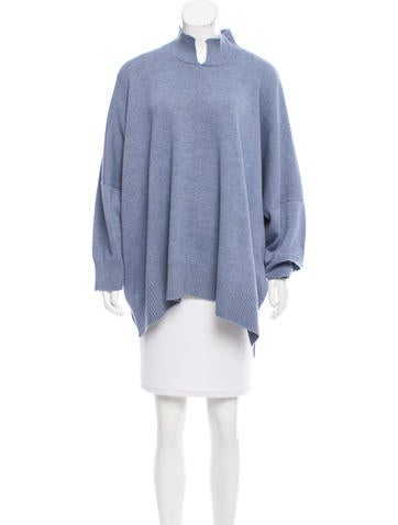 Eskandar Oversize Wool Sweater w/ Tags None