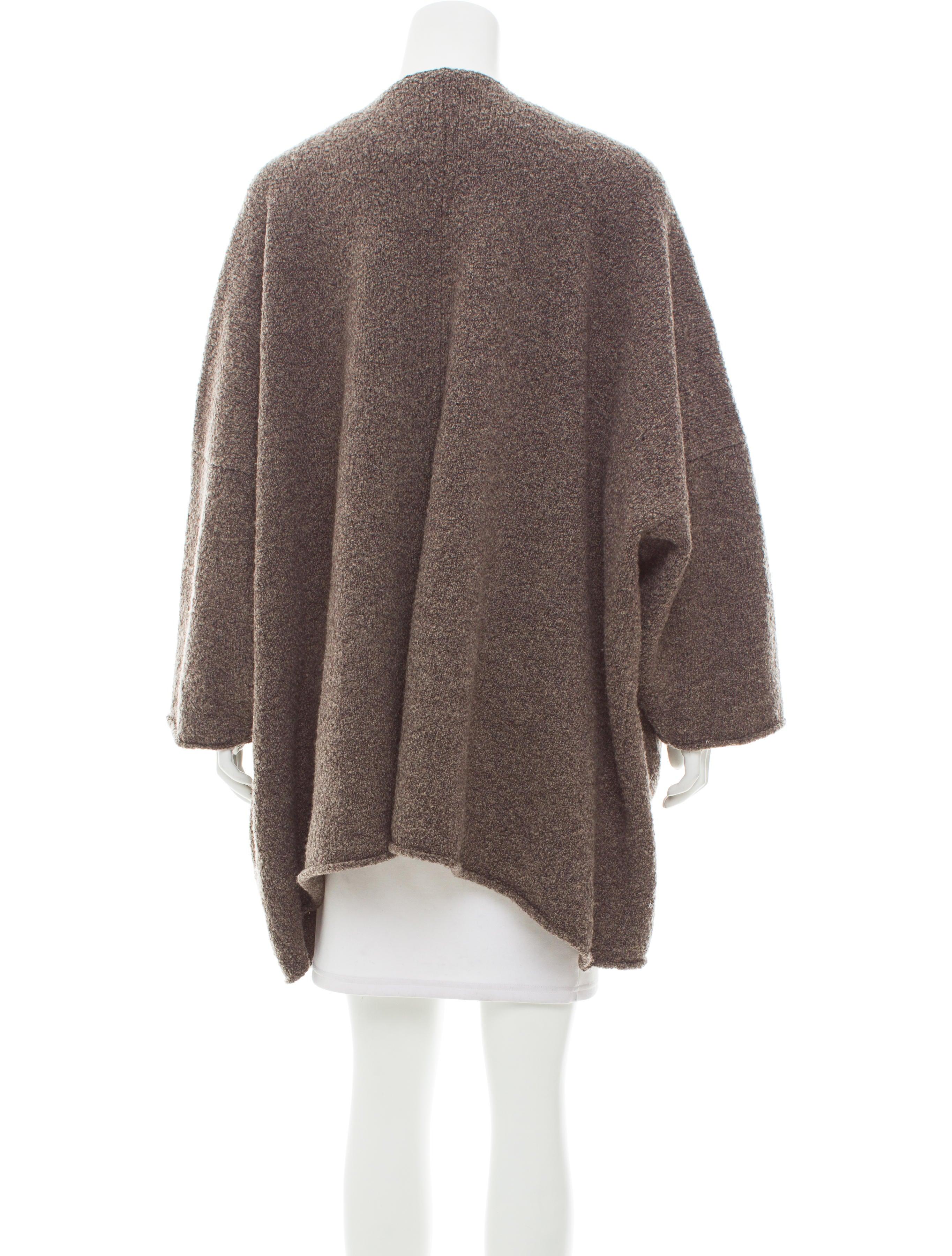Eskandar Oversize Merino Wool Cardigan - Clothing - ESK25216 | The ...
