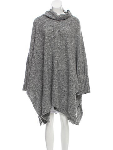Eskandar Knit Poncho Sweater w/ Tags None