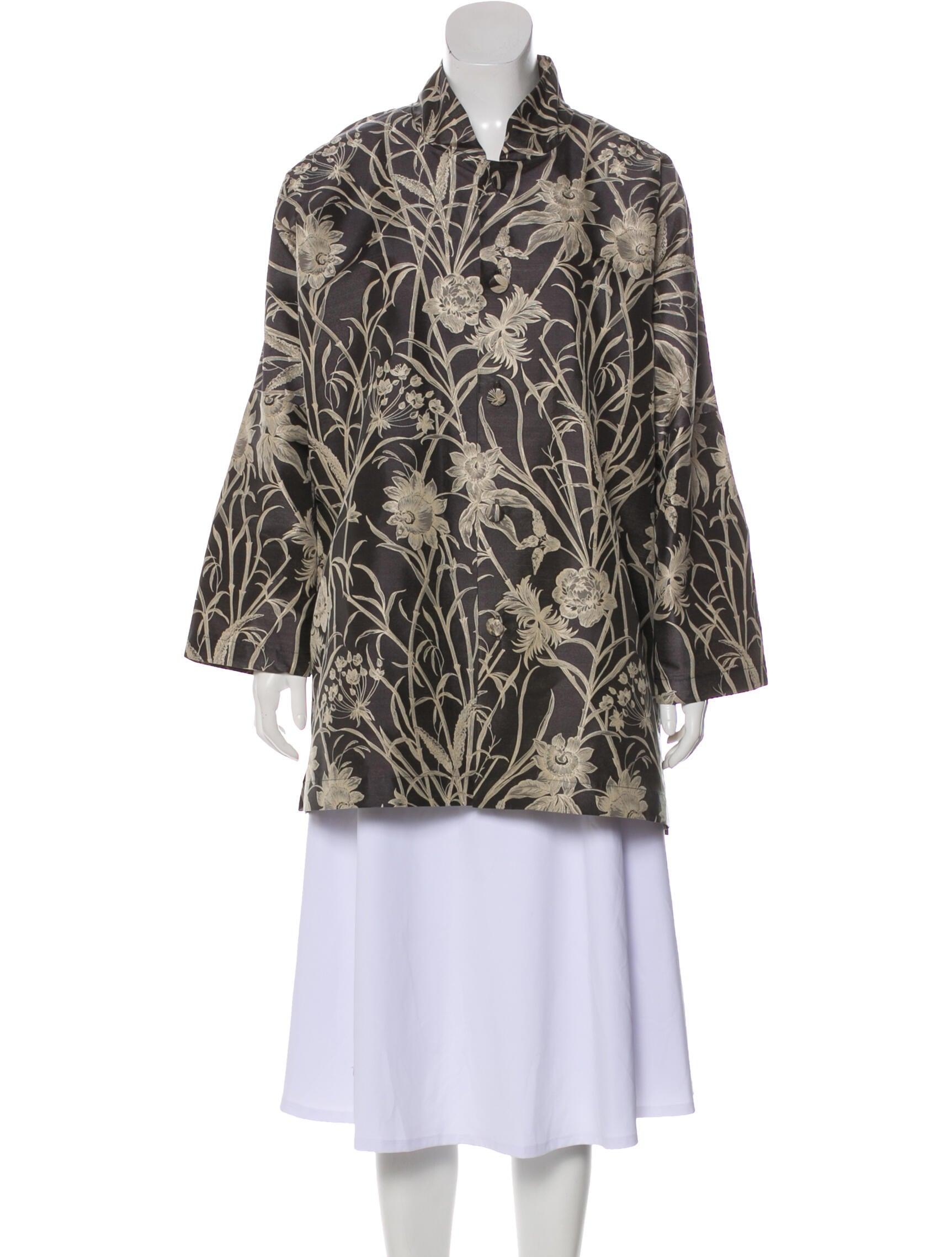 Eskandar Floral Print Jacket - Clothing -           ESK33613 | The RealReal