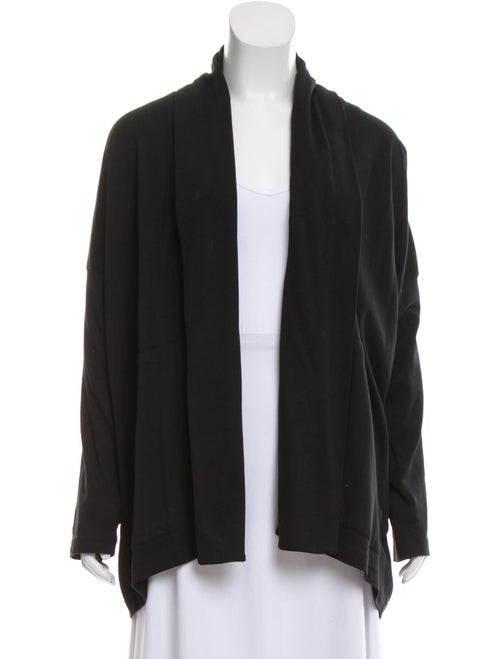 Eskandar Asymmetrical Sweater Black