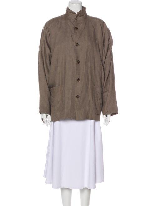 Eskandar Linen Utility Jacket