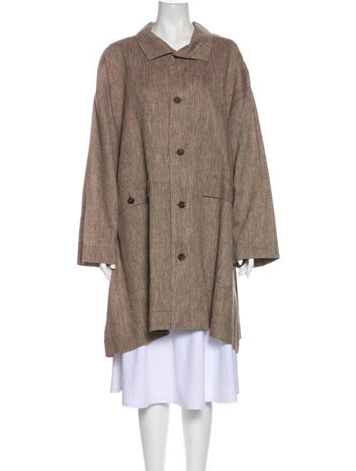 Eskandar Coat Brown