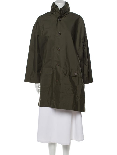 Eskandar Coat Green