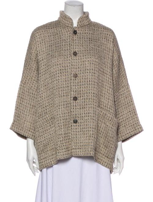 Eskandar Mock Neck Sweater