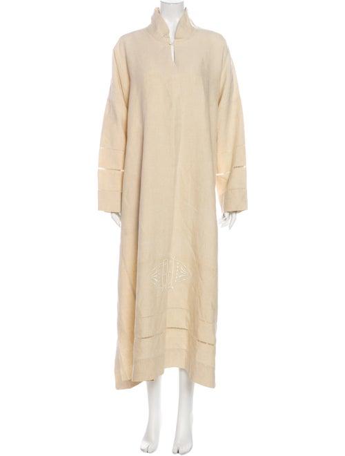 Eskandar Linen Long Dress